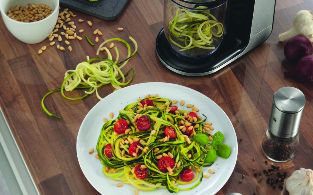 Voll im Trend: Low-Carb-Spaghetti aus Gemüse