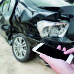 Mit der neuen App wird ein Unfallschaden schnell dokumentiert