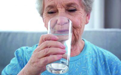 Im Alter genug trinken